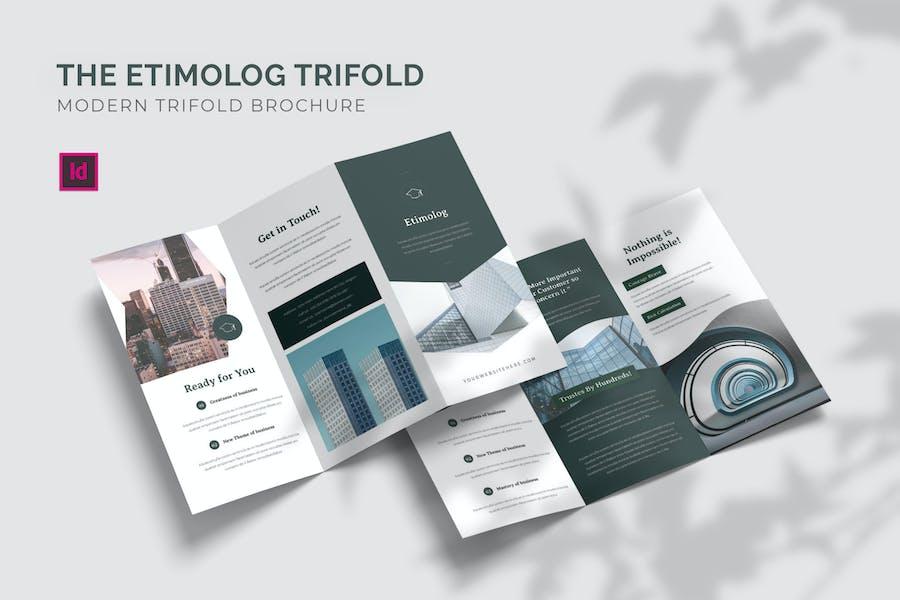 Etimolog - Trifold Brochure