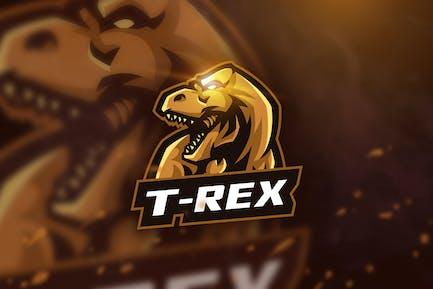 T-Rex - Mascot & Esport Logo