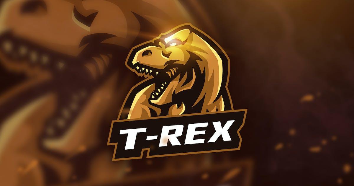 Download T-Rex - Mascot & Esport Logo by aqrstudio