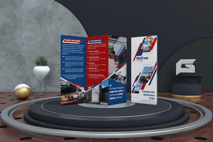 Thumbnail for Logistic Tri-Fold Brochure