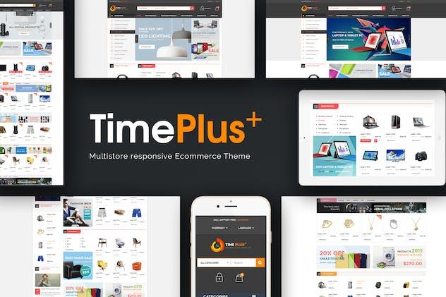 TimePlus - Mega Store Responsive Prestashop Theme - product preview 0