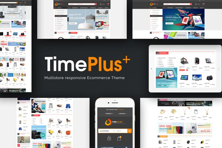 TimePlus - Mega Store Responsive Prestashop Thème