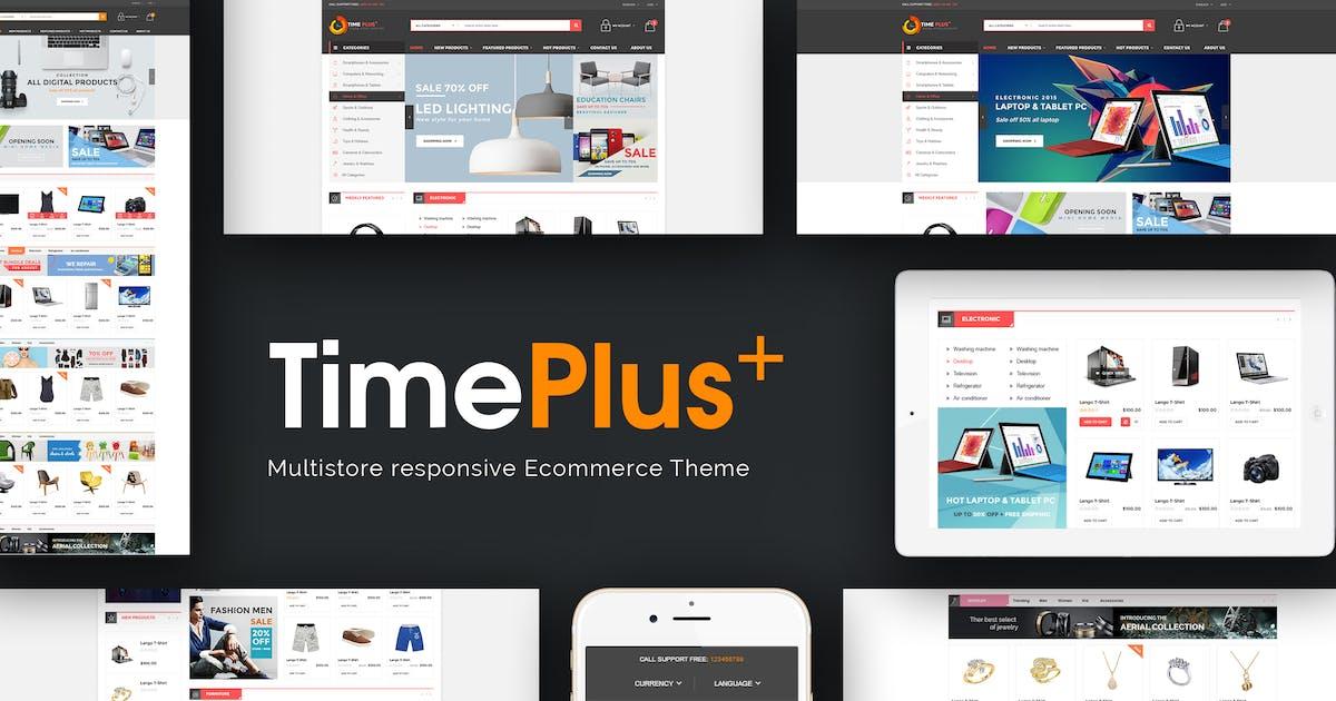 Download TimePlus - Mega Store Responsive Prestashop Theme by posthemes