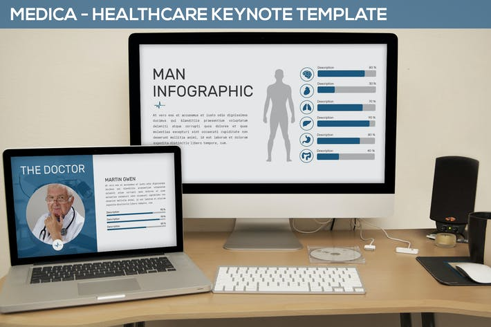 Thumbnail for Medica - Healthcare Keynote Template