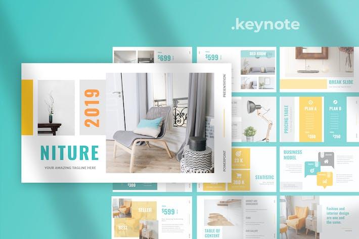 Thumbnail for Niture - Furniture Keynote Presentation