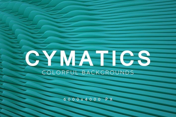 Thumbnail for Cymatics Bunte Hintergründe