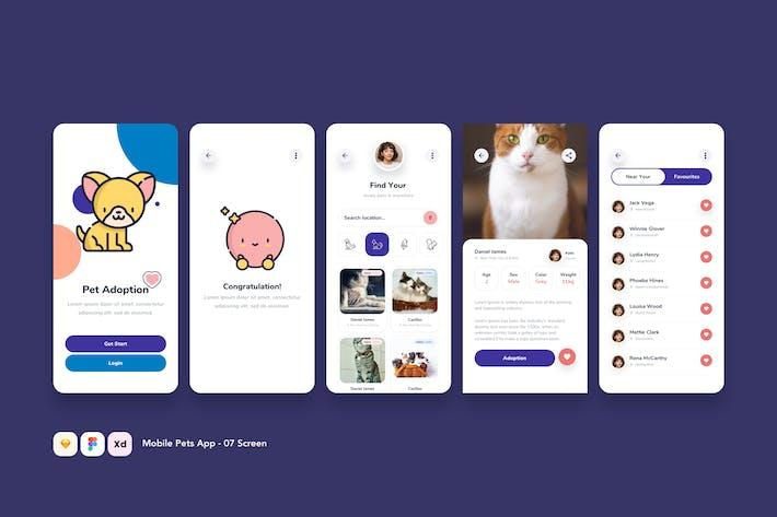 Thumbnail for Mobile Pets App