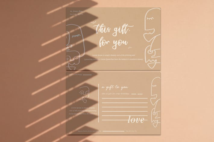 Thumbnail for Gift Card Greeting card
