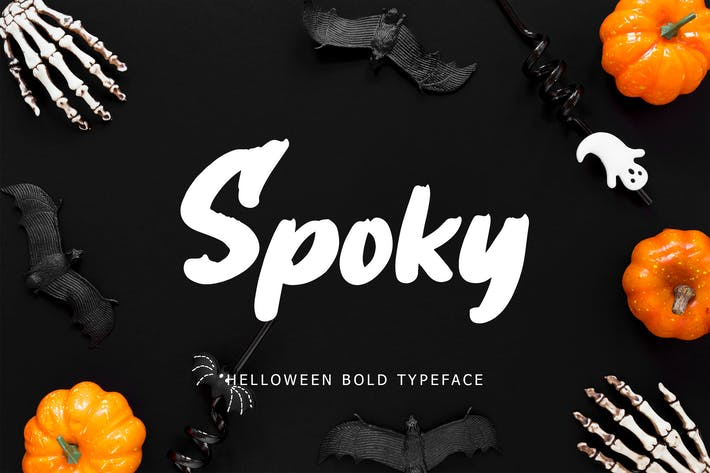 Thumbnail for Spoky Helloween Bold Typeface