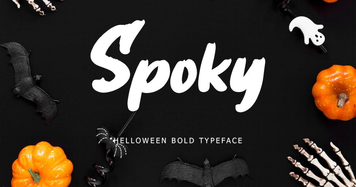 Download Spoky Helloween Bold Typeface by Formatika