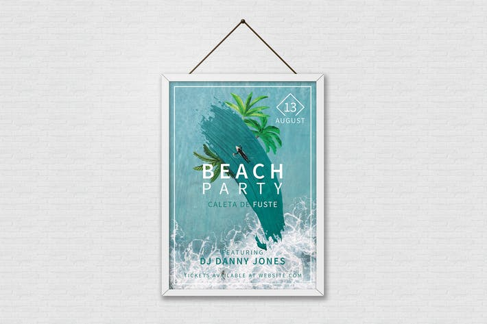 Thumbnail for Summer Beach Party Poster