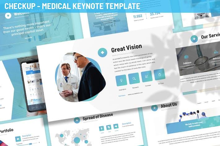 Thumbnail for Checkup - Medical Keynote Template
