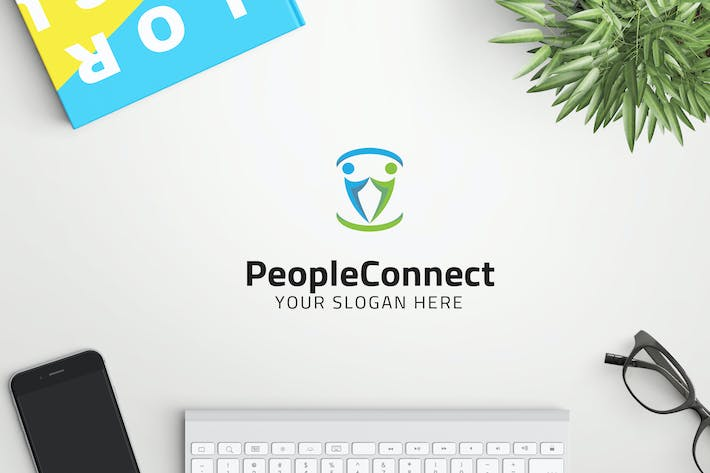 Thumbnail for PeopleConnect professional logo