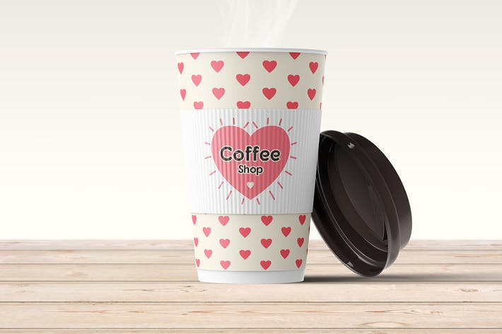 Thumbnail for Coffee Cup Mock-up