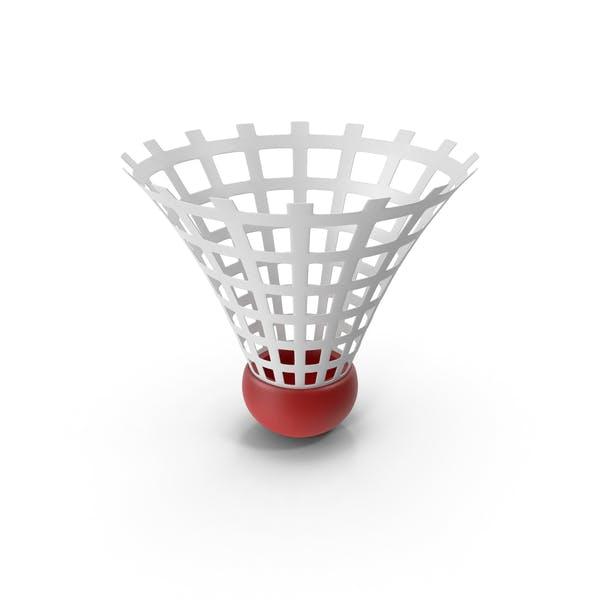 Cartoon Badminton Shuttlecock