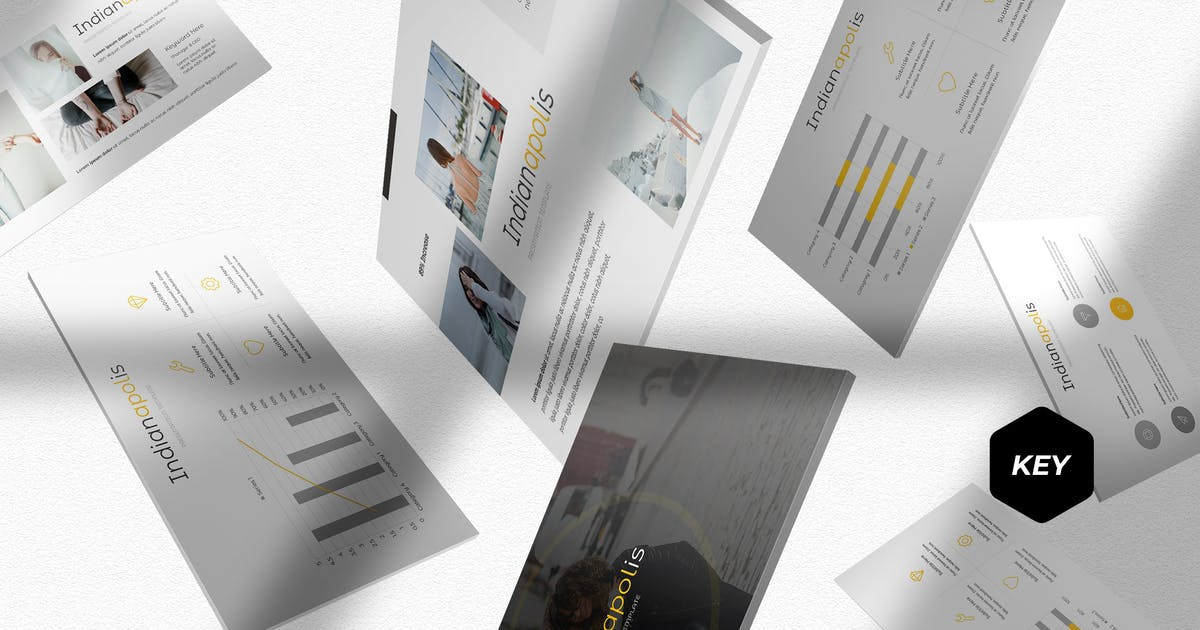 Download Indianapolis - Keynote Template by aqrstudio
