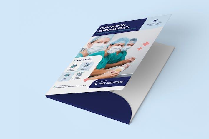 Thumbnail for Coronavirus medical folder