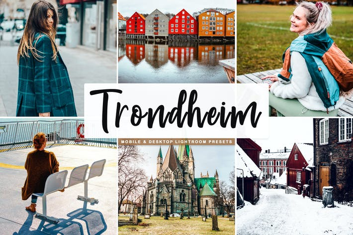 Thumbnail for Trondheim Mobile & Desktop Lightroom Presets