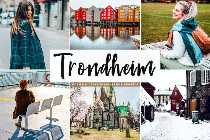 Thumbnail for Пресеты Lightroom для мобильных и настольных компьютеров Trondheim