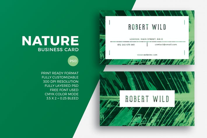 Thumbnail for Nature Business Card
