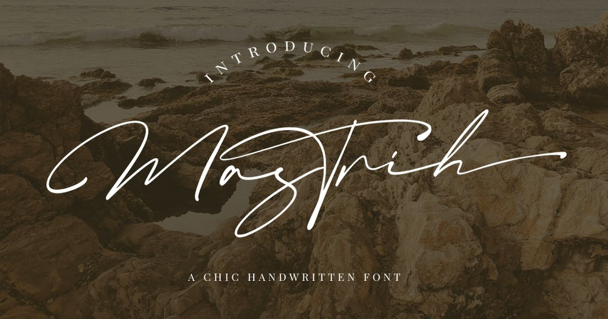 Download Mastrih Signature Font by vultype