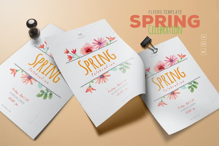 Cover Image For Spring Celebration Flyer