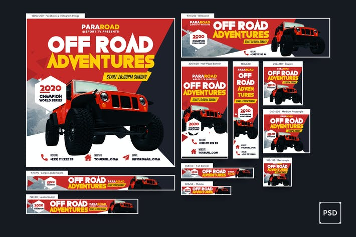 Thumbnail for Off Road Banners Ad