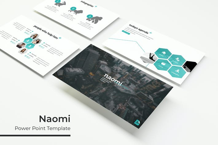 Thumbnail for Naomi - Powerpoint Template