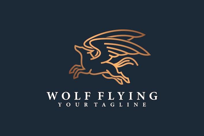 WOLF FLYING