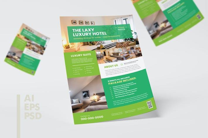 Luxurious Hotel Flyer Design