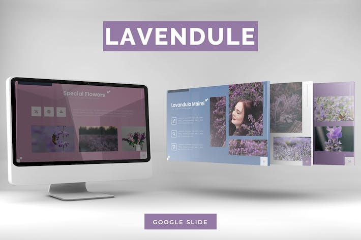 Thumbnail for Lavendule -  Google Slides Template