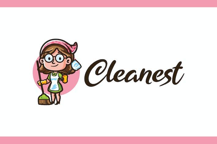 Thumbnail for Cleanest - Service de ménage et Logo de ménage