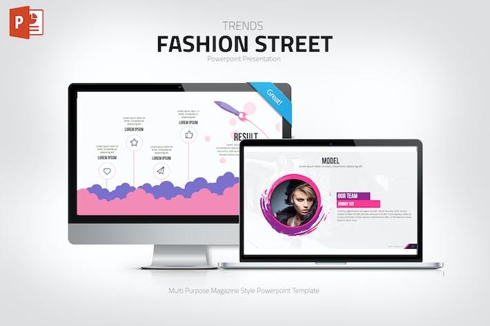 Thumbnail for Презентация Powerpoint моды