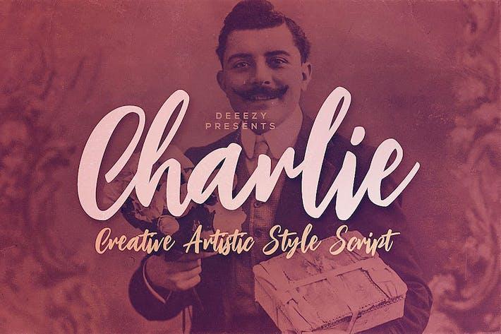 Thumbnail for Tipo de letra Charlie Script