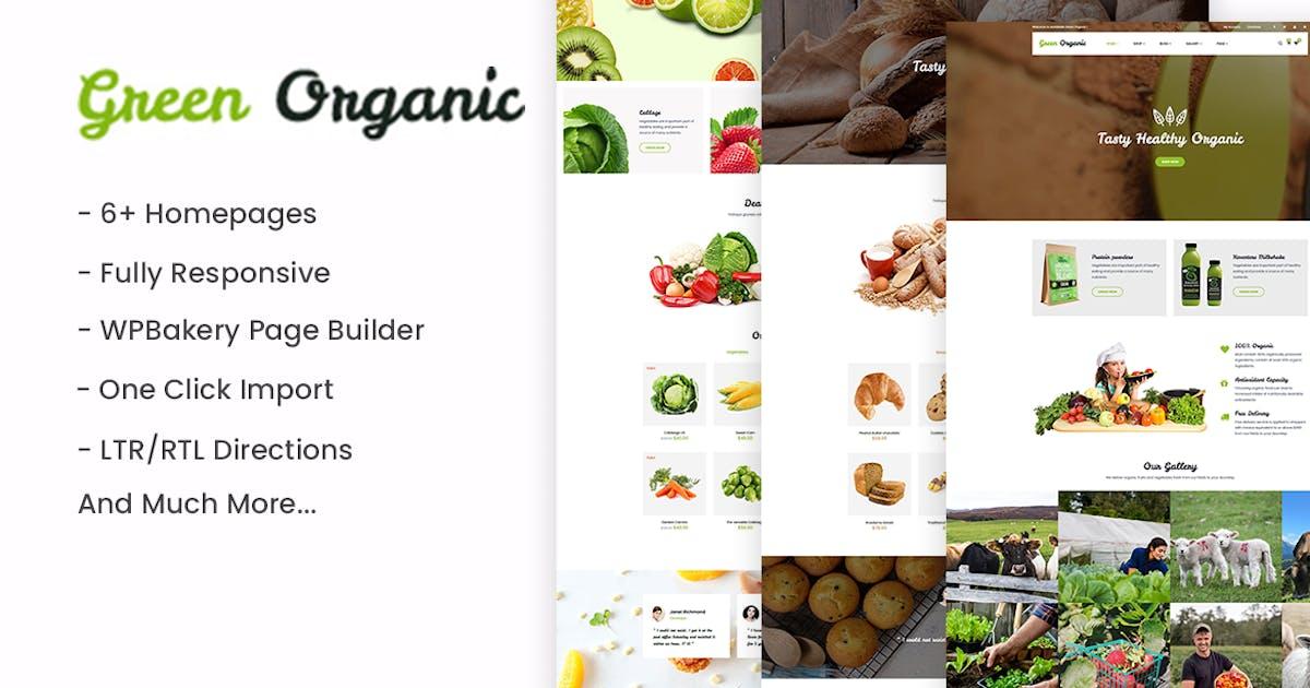 Download GreenOrganic - Organic & Bakery WordPress Theme by ApusTheme