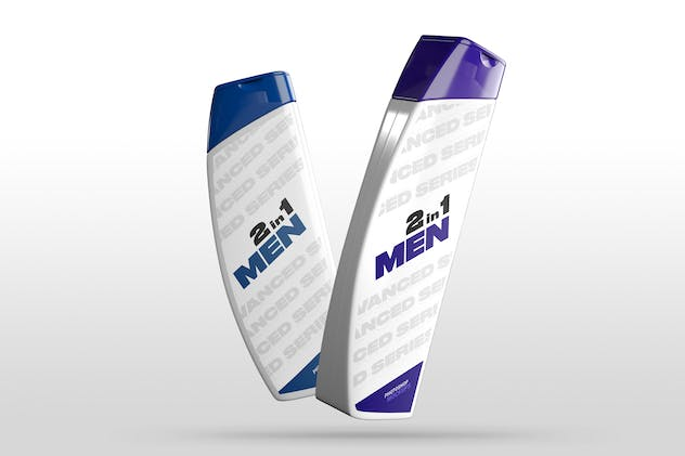 Shower Gel Mockups