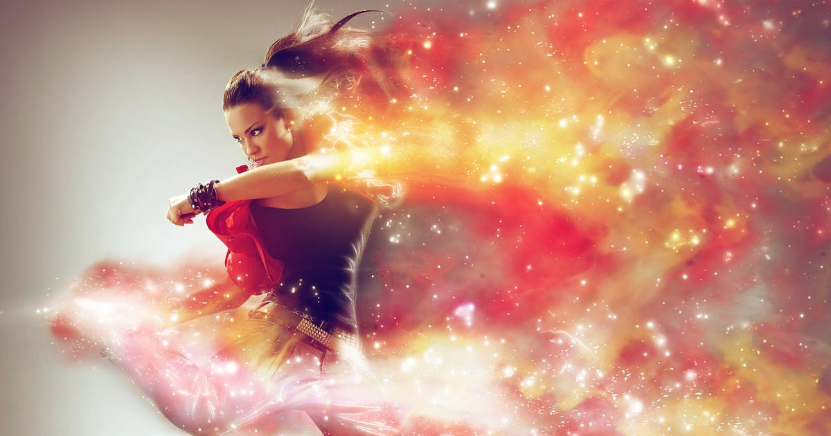 Download Cosmic Photoshop Action by sevenstyles