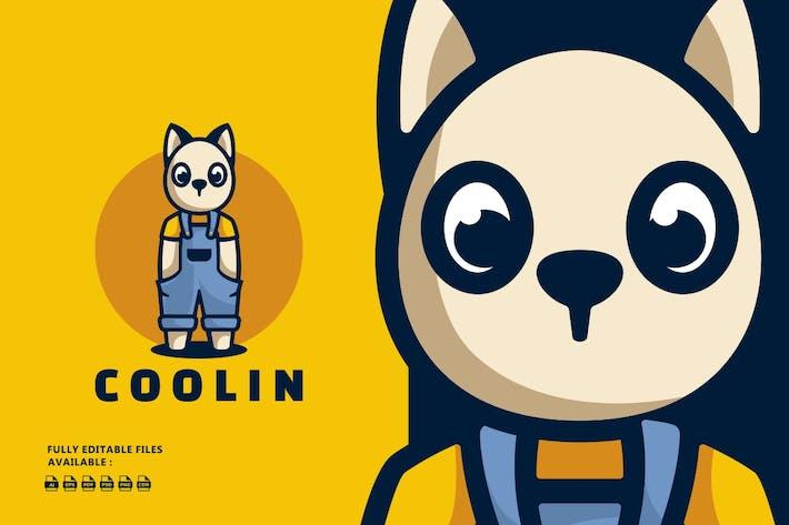 Thumbnail for Cool Bunny Cartoon Logo