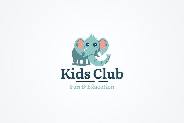 Cover Image For Elephant Logo Template