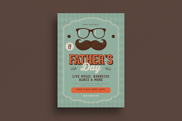 Thumbnail for Father's Day Event Flyer