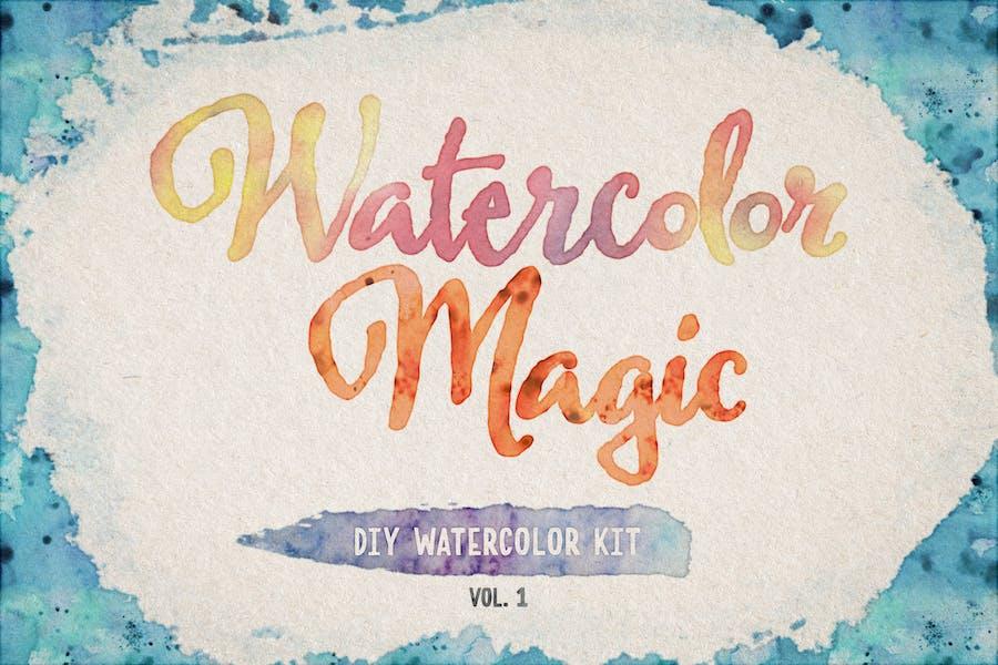 Акварели-Magic-Volume-1