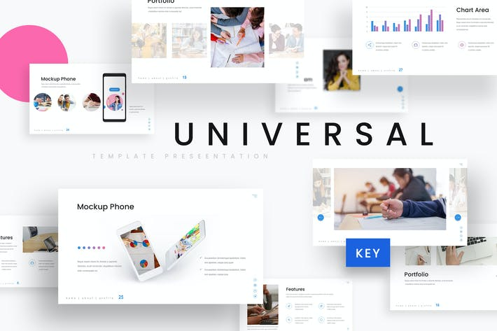 Thumbnail for Universal - Education Keynote Template