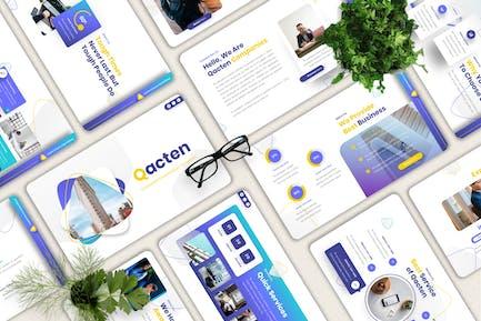 Qacten - Corporate Powerpoint Template