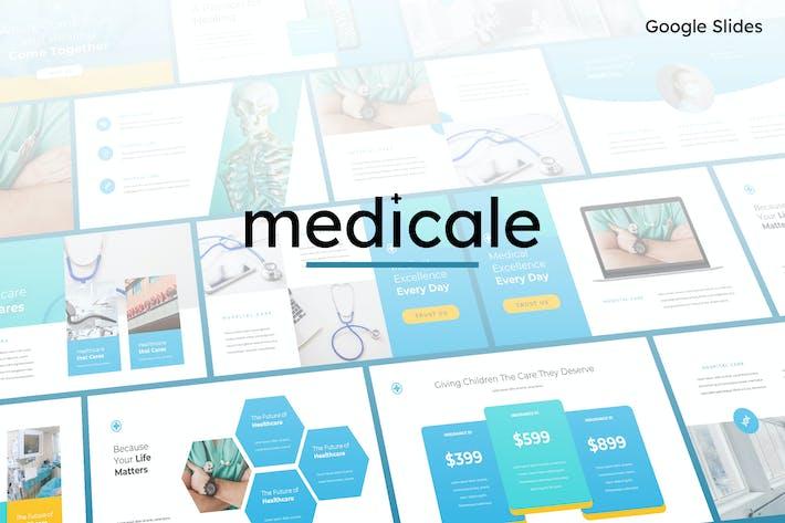 Thumbnail for Medicale - Medical Google Slides Template