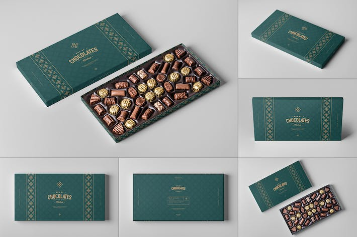 Thumbnail for Box Of Chocolates Mock-up 2
