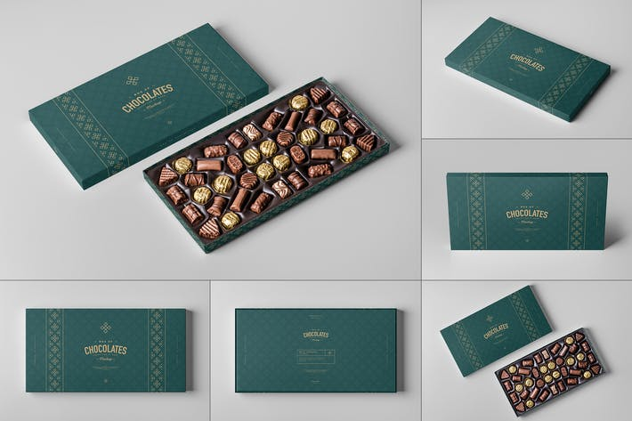 Box Of Chocolates Mock-up 2