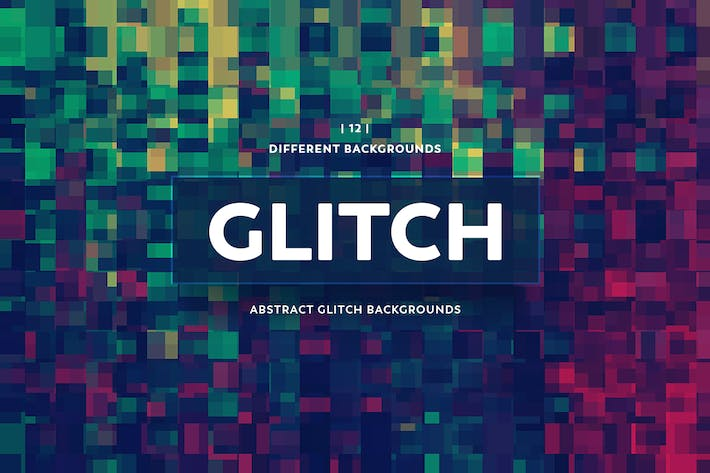 Thumbnail for Abstract Glitch Backgrounds