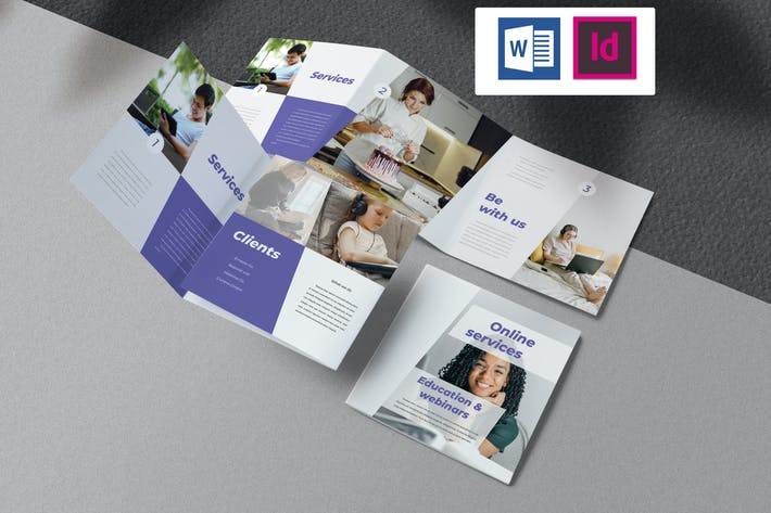 Thumbnail for Online Services & Education Brochure