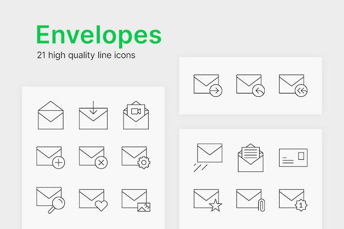 Thumbnail for Envelope Icons