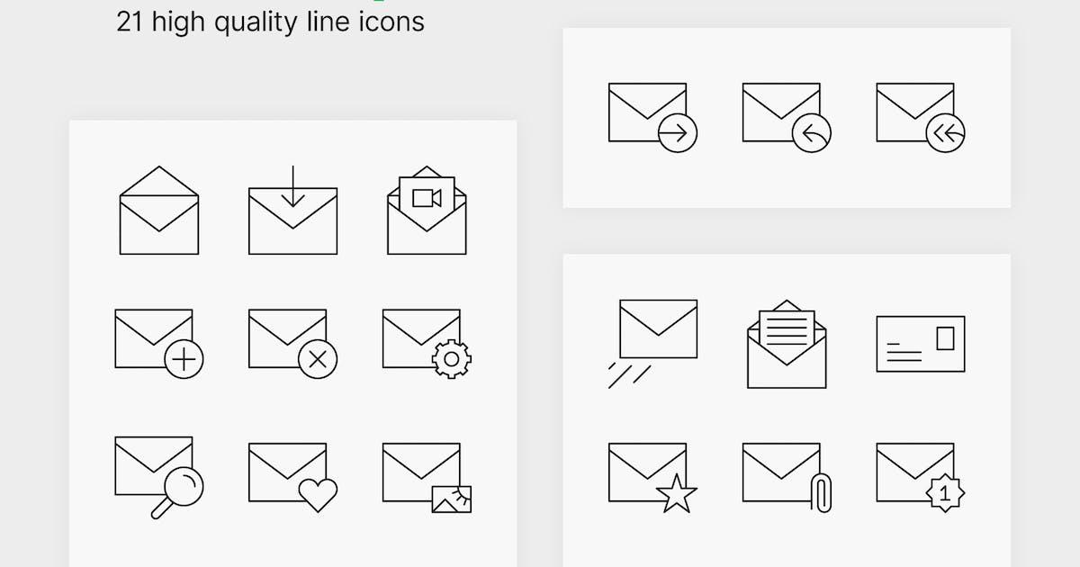Download Envelope Icons by polshindanil